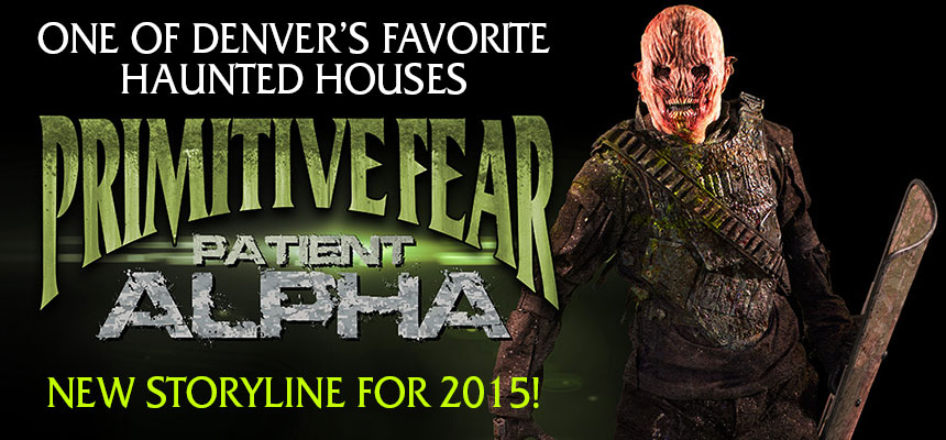 Primitive Fear Haunted House